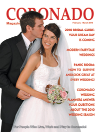 Coronado Mag Cover Press | Photography by True Photography Weddings