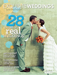 EW spring 2012 cover Press | Photography by True Photography Weddings